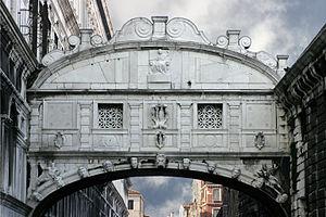 Venice – Bridge of Sighs Italiano: Venezia – P...