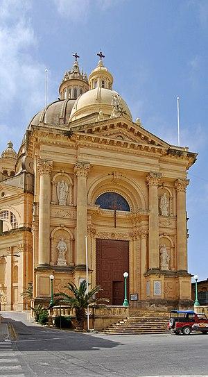 English: Rotunda St. John The Baptist in Xewki...