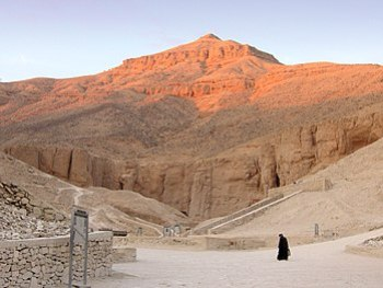 Valley of the Kings near Luxor, Egypt.