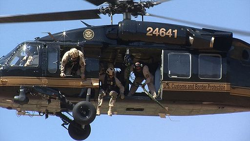 CBP Rescues Illegal Immigrant from Steep Cliff; Air and Marine Blackhawk - BORSTAR agents integrate efforts