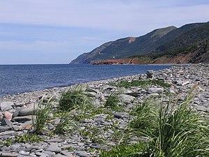 Cape Breton Island, Nova Scotia Français : Île...