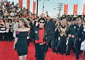Drew Barrymore and Corey Feldman at the 61st A...
