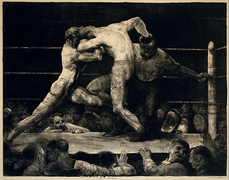 File:George Bellows - A Stag at Sharkey's - Google Art Project.jpg