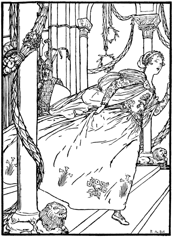 FileIllustration At Page 113 In Grimms Household Tales