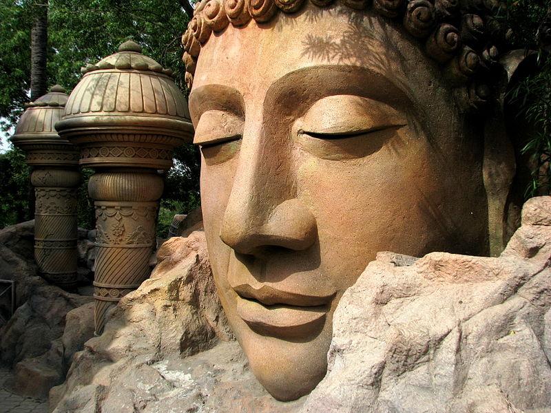 File:India - Hyderabad - 043 - Buddhist caves theme area at Ramoji Film City (3920030419).jpg