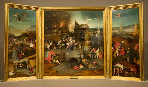 Hieronymus Bosch, Trittico delle Tentazioni di sant'Antonio