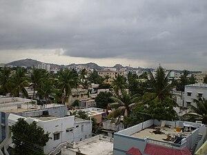 Skyline of Malkajgiri, Hyderabad, India