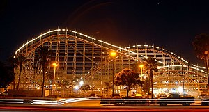English: Roller Coaster at Mission Beach (San ...