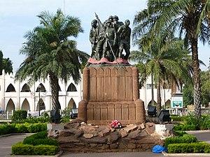 Monument aux héros de l armée noire, place de ...