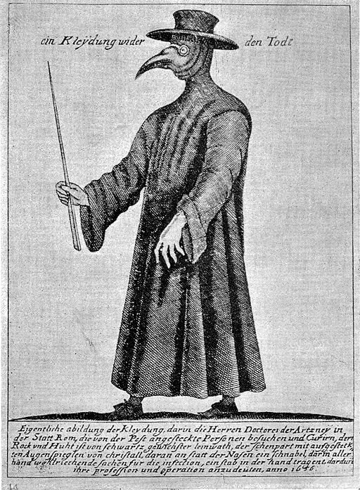 Plague doctor Wellcome L0025222
