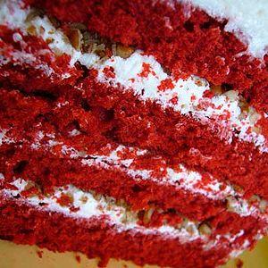 English: Red velvet cake.