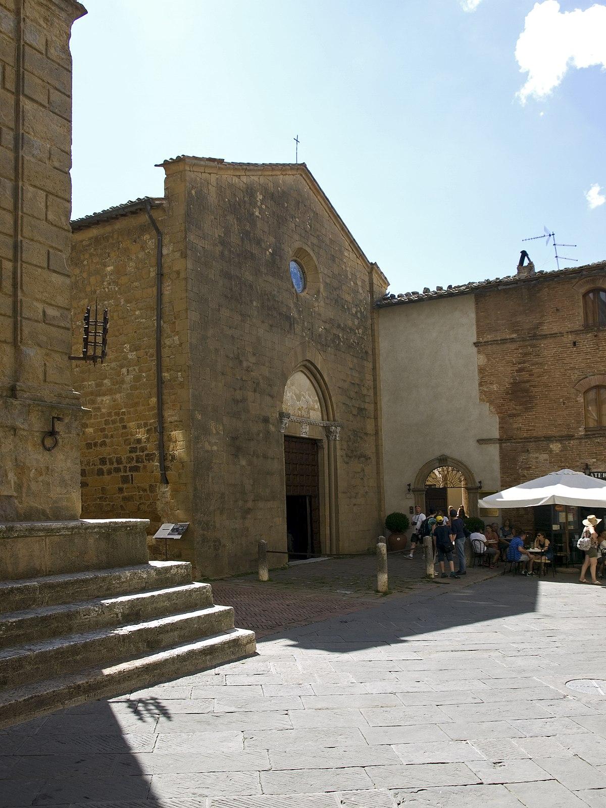 San Francesco Pienza Wikipedia