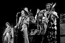 Photo représentant le groupe Slade.