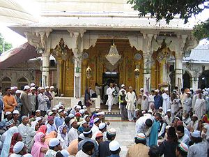 English: Moinuddin Chishti Dargah in Ajmer, India