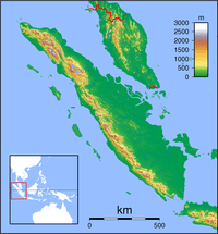 TJQ is located in Sumatra Topography