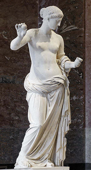 Statue of Aphrodite, known as the Venus of Arl...