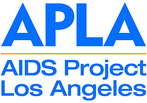 English: AIDS Project Los Angeles color logo