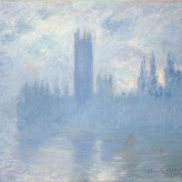 """Houses of Parliament, London"" by Claude Monet (Art Institute of Chicago)"