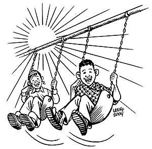 """""""Forgiveness 5"""" by Carlos Latuff."""