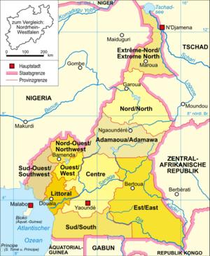 Regionen Kameruns