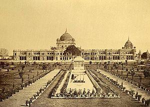 English: Chattarmanzil, Claude Martin's palace...