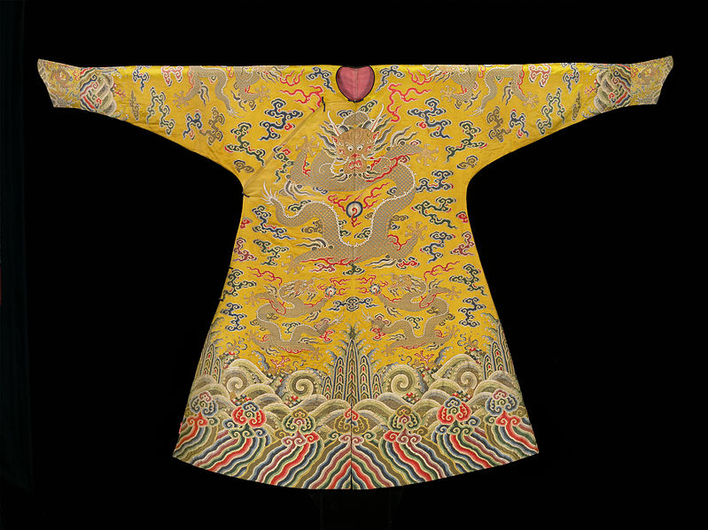 File:Man's semi-formal court robe (jifu) - Google Art Project.jpg