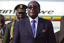 Robert Mugabe in 2011