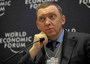 Oleg Deripaska, Russian billionaire