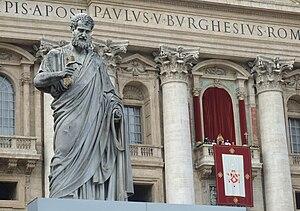 Español: Benedicto XVI el dia de Navidad en la...