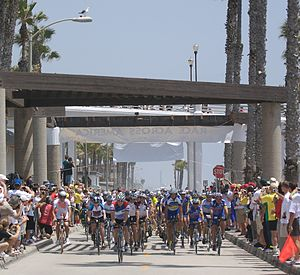 2007 RAAM Start in Oceanside, CA. Photo: Kayvo...