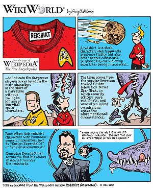 Redshirt comic