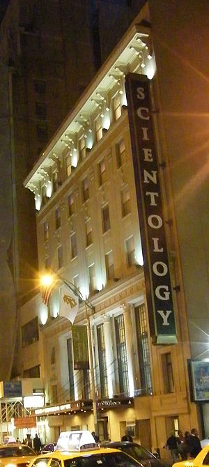 Scientology building in New York City.