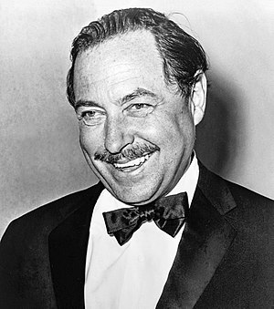 Tennessee Williams, American playwright; cropp...