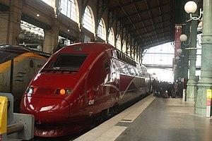 Thalys PBKA at Gare du Nord