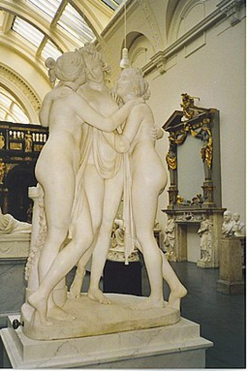 The Three Graces in the VandA - geograph.org.uk - 254508