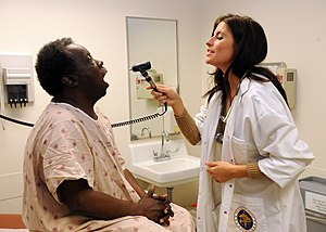 SAN DIEGO (March 7, 2011) Nurse practitioner T...