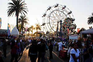 English: Ventura County Fair in Ventura, Calif...
