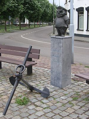the sailor in 's-Hertogenbosch, the Netherlands
