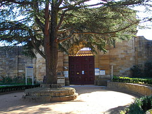 The old Berrima Gaol, now used as a training c...