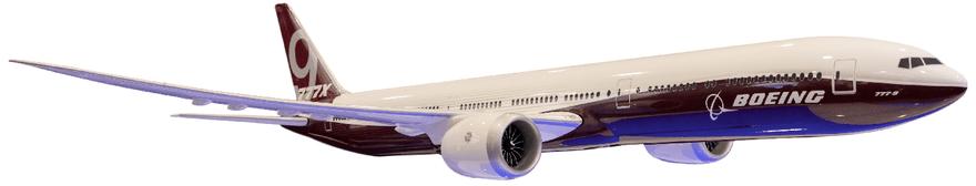 Resultado de imagen para Boeing 777-9 PNG