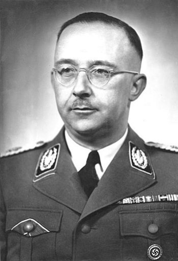 Heinrich Himmler, leader of the SS and founder...
