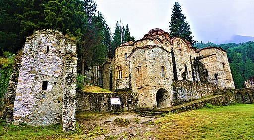 Church of Hodigitria - Afendiko at Mystras