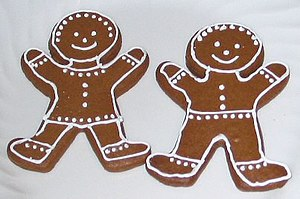 English: Crispy Gingerbread Cookies See Recipe...