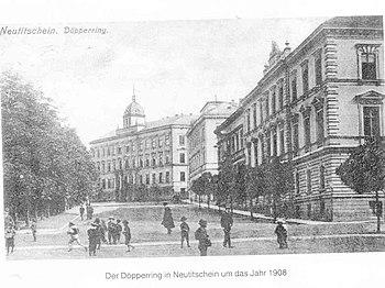 Deutsch: Döpperring in der Stadt Neutitschein ...