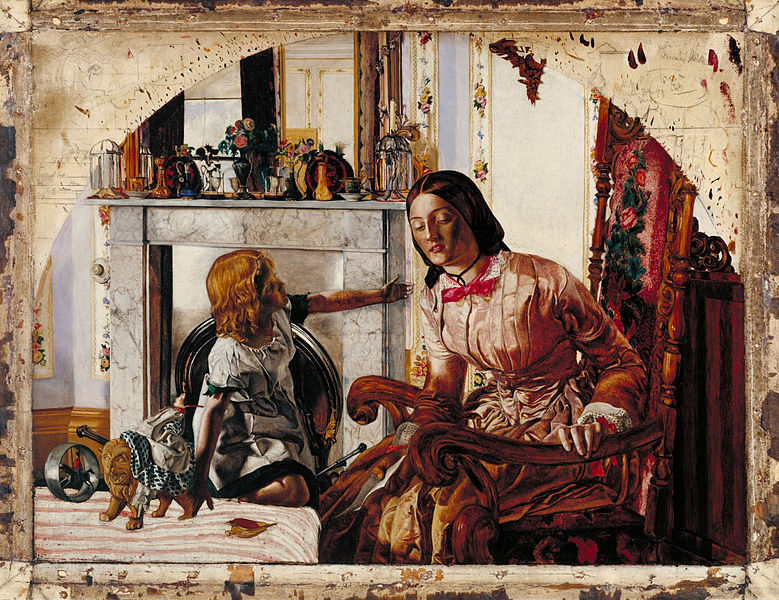 File:Frederic George Stephens - Mother and Child - Google Art Project.jpg
