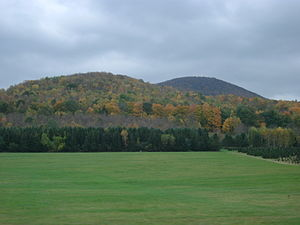 Green Mountains near Bennington, Vermont