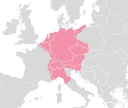 The Holy Roman Empire around 1630
