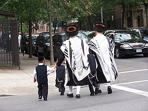 Ultra-orthodox Jews in Brooklyn