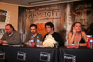 English: Rendezvous with the actors of the tel...