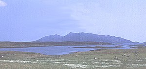 English: Loch Eport. Taken from close to what ...